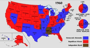 1960 Election Map.VoterRadioWebsite
