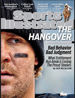 Sports Ilustrated Cover of Steelers QB Ben Roethlisberger (Image: Sports Illustrated, May 5, 2010)