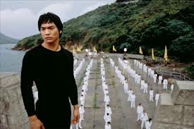 "Jason Scott Lee as 'Bruce Lee' in ""Dragon: The Bruce See Story"" (1994)"