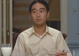 "Gedde Watanabe as 'Luk Duk Dong' in ""Sixteen Candles"" (1984)"