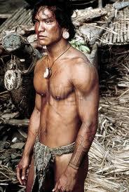 "Jason Scott Lee as ""Noro"" in 'Rapa Nui' (Photo/Foto Cinema, 1993)"