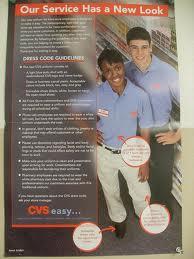 CVS Dress Code for employees (Photo/lCVS Caremark website)