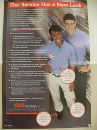 CVS Dress Code for employees (Photo/lCVS Caremark website)