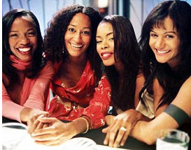 Cast of 'Girlfriends' TV show, an American comedy-drama sitcom that lasted eight years. (Image: UPN Television Network)