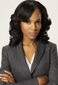 Kerry Washington as 'Olivia Pope' in the television show 'Scandal.' Pope is the rare character that doesn't fit the usual black women television role. (Image: ABC Television)