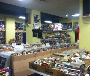 Eides Entertainment - music, comics and video store in Pittsburgh, PA (Photo: Angelia Levy, Dec. 26, 2015)